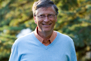 Bill Gates, chairman and founder of Microsoft Corp, will meet with John Key today.Photo / File