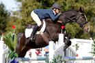 Dannie Lodder and Moochi win at Kihikihi. Photo / Christine Cornege