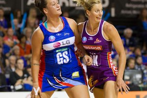 There is pressure on netball bosses to step in and take action on rough play before tension escalates. Photo / Greg Bowker