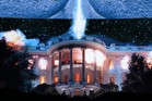 Destruction of the White House as seen in Independence Day. Photo / Supplied