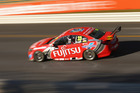 ADELAIDE, AUSTRALIA - MARCH 01: Scott McLaughlin drives the #33 Fujitsu Racing GRM Holden during practice for the Clipsal 500, which is round one of the V8 Supercar Championship Series, at the Adelai