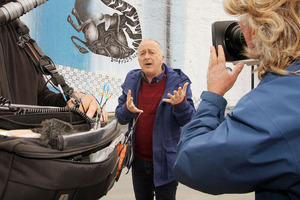 Tony Robinson is visiting towns and cities across Australia and New Zealand.  Photo / Christchurch Star
