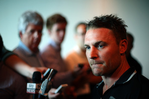 Brendon McCullum should be re-nicknamed BOOM.  Photo / Getty Images