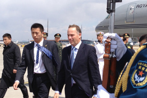 "Prime Minister John Key conveyed New Zealand's ""deep concerns"" over North Korea. Photo / Audrey Young"