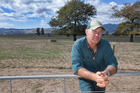Te Aroha farmer Stuart King is concerned about falling rural populations. Photo / John McCombe
