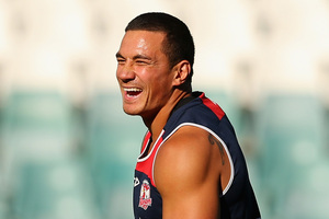 Sonny Bill Williams is likely to face a hostile reception from Bulldogs fans at tonight's match. Photo / Getty Images