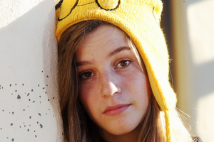 Taradale teenager Julia Seaward is taking a strong stance against bullying. Photo / Paul Taylor