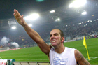 The face of modern-day fascism - Lazio soccer player Paolo Di Canio's 2005 salute to supporters at the end of the team's game with AS Roma is notorious. Photo / AP