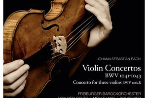 Bach Violin Concertos. Photo / Supplied