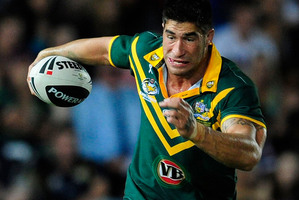 James Tamou played for Australia in 2012, two years after representing New Zealand Maori. Photo / Getty Images
