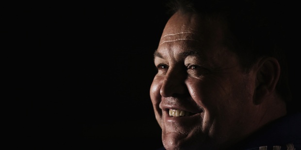Head coach Steve Hansen of the All Blacks. Photo / Getty Images