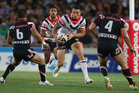 Sonny Bill Williams of the Roosters in action during the round two NRL match between the New Zealand Warriors and the Sydney Roosters at Eden Park. Photo / Getty Images.