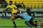 Julian Savea of the Hurricanes. Photo / Getty Images