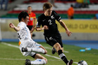 New Zealand drew with Uruguay at the last Under-20 World Cup in 2011. Photo / Fernando Vergara