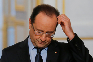 French President Francois Hollande. Photo / AP