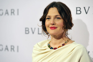 Drew Barrymore says she developed odd facial hair when pregnant with her first child, Olive. Photo / AP
