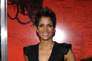 Halle Berry is expecting her second child with French actor Olivier Martinez. Photo / AP