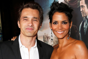 Olivier Martinez and Halle Berry are expecting a baby boy.Photo / AP