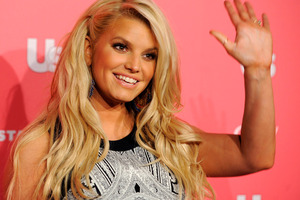 Jessica Simpson will get married this year after her baby boy is born.Photo / AP