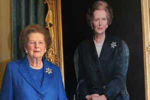 Former Prime Minister Margaret Thatcher. Photo / AP