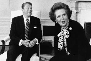 Former British Prime Minister Margaret Thatcher. Photo / AP