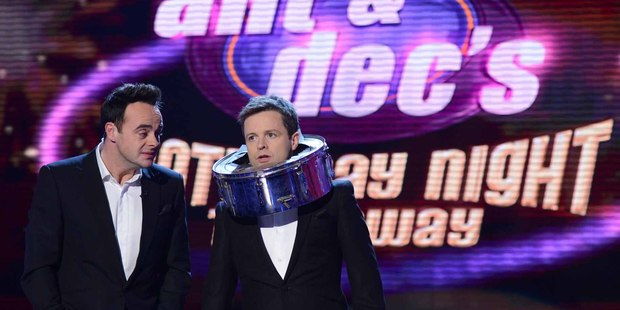 Ant and Dec's Saturday Night Takeaway variety-style show is a throwback to another era. Photo / Supplied