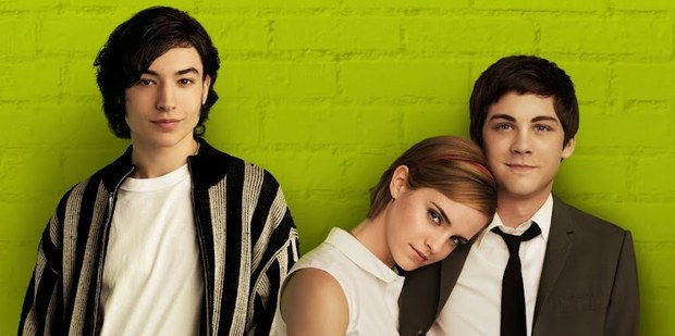 Ezra Miller, Emma Watson and Logan Lerman in The Perks of Being a Wallflower. Photo / Supplied