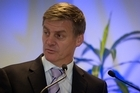 "The Government remains on track to return to surplus by 2014/15 but its current ""firm"" control on spending will continue beyond that date, Finance Minister Bill English said in a pre-Budget speech this afternoon."
