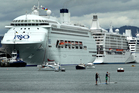 Both Tauranga and the Port of Auckland had days during summer when three cruise liners were berthed, putting a strain on the ports and attractions popular with passengers. Photo / Alan Gibson