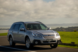 Subaru are recalling 164 cars due to an improperly installed wiring harness. Photo / Ted Baghurst
