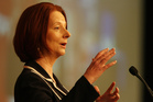 Australian Prime Minister Julia Gillard. Photo / Greg Bowker