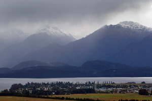 Lake Te Anau needs a boost to prevent power shortages this winter.Photo / File