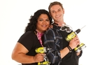 Tyson Hill and Rachel Rasch.