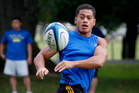 Augustine Pulu will be challenged to contain Will Genia. Photo / Christine Cornege