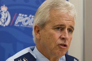 Police Commissioner Peter Marshall . Photo / Mark Mitchell