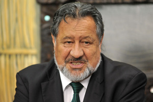 Maori Party co leader Pita Sharples. Photo / NZPA
