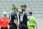 Situations are magnified at domestic level where a player like Ryder is far more likely to come into contact with munters than if he's in the sheltered New Zealand cricket team environment. Photo / NZPA