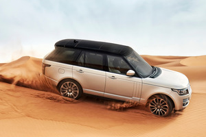 The all-new Range Rover received the maximum safety rating from ANCAP. Photo / Supplied