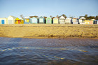 Bathing boxes at Mt Martha , Victoria. Photo / Supplied