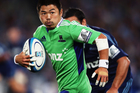 Fumiaki Tanaka will start for the Highlanders against the Brumbies. Photo /Getty Images
