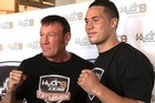 Kevin Barry is back working with New Zealand's top heavyweight boxing prospect.