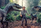 Sam Neill in a scene from Jurassic Park. Photo/supplied