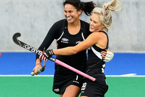 Kayla Sharland was on the scoresheet for New Zealand. Photo / Getty Images