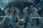 Olga Kurylenko and Tom Cruise in Oblivion. Photo/supplied