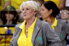 West Coast Fever coach Norma Plummer. Photo / Getty Images