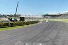 Looking down towards corner eight at Pukekohe