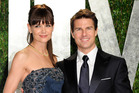 Katie Holmes and Tom Cruise. Photo/AP