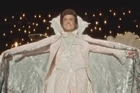 Michael Douglas and Matt Damon star as gay lovers in the new HBO Film, Behind the Candelabra. The movie follows Liberace (Douglas) and his young lover Scott Thorson (Damon) through a turbulent six year relationship. The film is based on Thorson's book, Behind the Candelabra: My Life With Liberace.