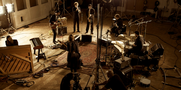 Loading The Veils perform at Abbey Road Studios in London.