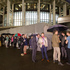Supporters of the Marriage Amendment Bill queue outside the Beehive before the final reading in Parliament, Wellington. Photo / Mark Mitchell